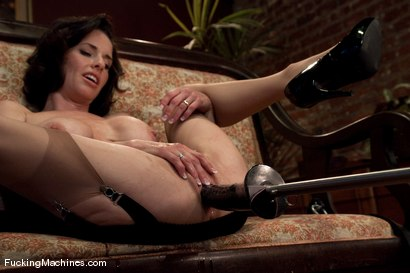 Photo number 10 from Veronica Avluv <br> Squirting MILF part 1 of 5 shot for Fucking Machines on Kink.com. Featuring Veronica Avluv in hardcore BDSM & Fetish porn.