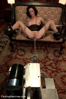 Photo number 8 from Veronica Avluv <br> Squirting MILF part 1 of 5 shot for Fucking Machines on Kink.com. Featuring Veronica Avluv in hardcore BDSM & Fetish porn.