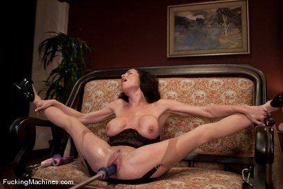 Photo number 14 from Veronica Avluv <br> Squirting MILF part 1 of 5 shot for Fucking Machines on Kink.com. Featuring Veronica Avluv in hardcore BDSM & Fetish porn.