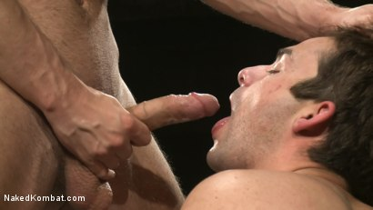 Photo number 12 from Tucker Scott vs. Zach Alexander shot for Naked Kombat on Kink.com. Featuring Tucker Scott and Zach Alexander in hardcore BDSM & Fetish porn.