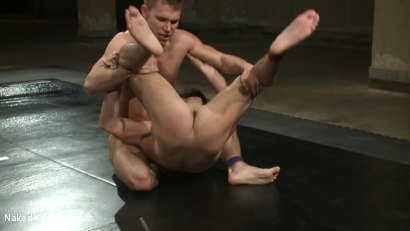 Photo number 6 from Tucker Scott vs. Zach Alexander shot for Naked Kombat on Kink.com. Featuring Tucker Scott and Zach Alexander in hardcore BDSM & Fetish porn.