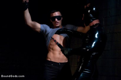 Photo number 2 from Adam gets Slicked! shot for Bound Gods on Kink.com. Featuring Nick Moretti and Adam Knox in hardcore BDSM & Fetish porn.