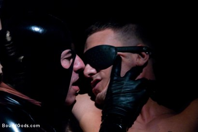 Photo number 4 from Adam gets Slicked! shot for Bound Gods on Kink.com. Featuring Nick Moretti and Adam Knox in hardcore BDSM & Fetish porn.
