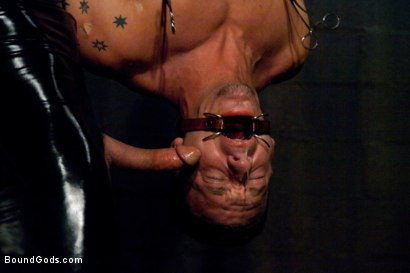 Photo number 5 from Adam gets Slicked! shot for Bound Gods on Kink.com. Featuring Nick Moretti and Adam Knox in hardcore BDSM & Fetish porn.