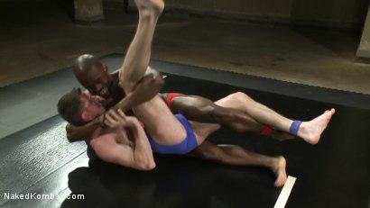 Photo number 1 from Derek Reynolds vs. Troy Daniels <br> The Oil Match shot for Naked Kombat on Kink.com. Featuring Troy Daniels and Derek Reynolds in hardcore BDSM & Fetish porn.