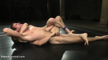 Photo number 6 from CJ vs Matthew Singer shot for Naked Kombat on Kink.com. Featuring Matthew Singer and CJ in hardcore BDSM & Fetish porn.