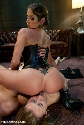 """Photo number 14 from Brunettes Have More Fun: """"Sweet Revenge"""" shot for Whipped Ass on Kink.com. Featuring Felony, Jessie Cox and Krissy Lynn in hardcore BDSM & Fetish porn."""