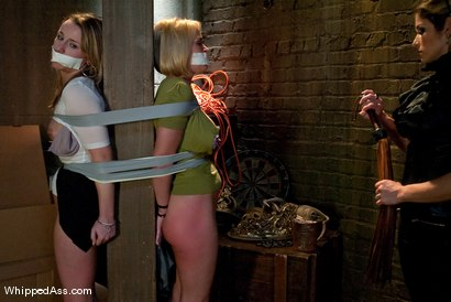 "Photo number 1 from Brunettes Have More Fun: ""Sweet Revenge"" shot for Whipped Ass on Kink.com. Featuring Felony, Jessie Cox and Krissy Lynn in hardcore BDSM & Fetish porn."