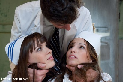 Photo number 1 from Slutty Anal Nurses shot for Everything Butt on Kink.com. Featuring Amber Rayne, Dana DeArmond and Steve Holmes in hardcore BDSM & Fetish porn.
