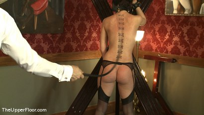Photo number 10 from Service Session: Maintaining Discipline shot for The Upper Floor on Kink.com. Featuring Cherry Torn in hardcore BDSM & Fetish porn.