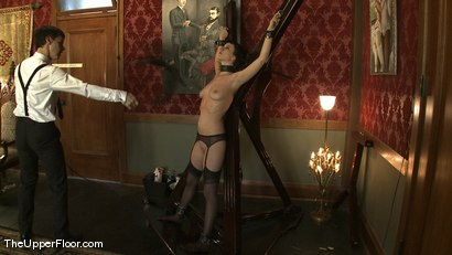 Photo number 15 from Service Session: Maintaining Discipline shot for The Upper Floor on Kink.com. Featuring Cherry Torn in hardcore BDSM & Fetish porn.