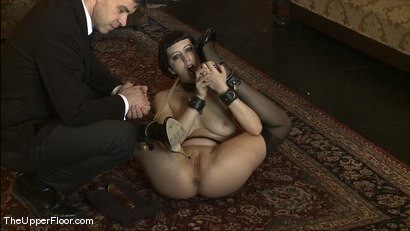 Photo number 1 from Service Session: Bondage Practice and Correcting Torn shot for The Upper Floor on Kink.com. Featuring Cherry Torn and Bella Rossi in hardcore BDSM & Fetish porn.