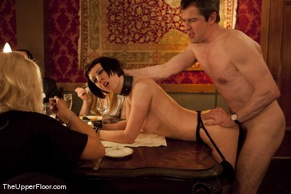 Photo number 2 from Director's Dinner: A Toast to Feeding the Castle  shot for The Upper Floor on Kink.com. Featuring Cherry Torn and Bella Rossi in hardcore BDSM & Fetish porn.