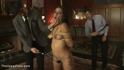 Photo number 10 from Fresh Meat: Jynx Maze shot for The Upper Floor on Kink.com. Featuring Cherry Torn and Jynx Maze in hardcore BDSM & Fetish porn.
