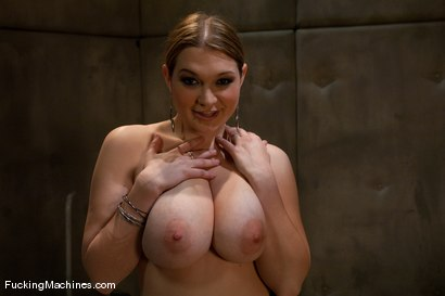 Photo number 1 from Cassandra Calogera   36FF natural breasts - what does that even mean? shot for Fucking Machines on Kink.com. Featuring Cassandra Calogera in hardcore BDSM & Fetish porn.
