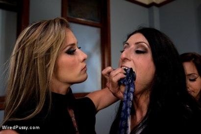 Photo number 2 from Office Take Down shot for Wired Pussy on Kink.com. Featuring Felony, Isis Love and Luscious Lopez in hardcore BDSM & Fetish porn.