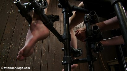 Photo number 13 from Bent backwards and made to cum over and over and over<br> with no hope of escape. shot for Device Bondage on Kink.com. Featuring Lilla Katt in hardcore BDSM & Fetish porn.