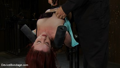 Photo number 3 from Bent backwards and made to cum over and over and over<br> with no hope of escape. shot for Device Bondage on Kink.com. Featuring Lilla Katt in hardcore BDSM & Fetish porn.