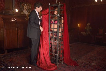Photo number 1 from Purchased For Pleasure shot for Sex And Submission on Kink.com. Featuring Steve Holmes and Mia Lelani in hardcore BDSM & Fetish porn.