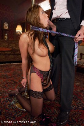 Photo number 5 from Purchased For Pleasure shot for Sex And Submission on Kink.com. Featuring Steve Holmes and Mia Lelani in hardcore BDSM & Fetish porn.