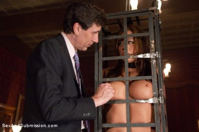Photo number 2 from Purchased For Pleasure shot for Sex And Submission on Kink.com. Featuring Steve Holmes and Mia Lelani in hardcore BDSM & Fetish porn.