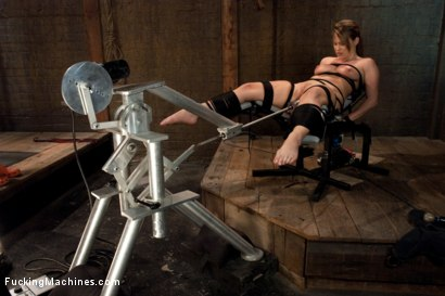Photo number 1 from Study Hard, Play Hard shot for Fucking Machines on Kink.com. Featuring Harmony in hardcore BDSM & Fetish porn.