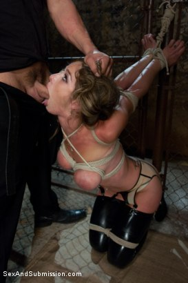 Photo number 4 from The Submission of Felony shot for Sex And Submission on Kink.com. Featuring Derrick Pierce and Felony in hardcore BDSM & Fetish porn.