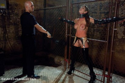 Photo number 1 from The Submission of Felony shot for Sex And Submission on Kink.com. Featuring Derrick Pierce and Felony in hardcore BDSM & Fetish porn.