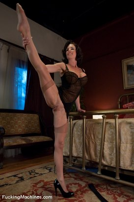 Photo number 1 from Part 4 of 5 <br> The MILF Squirter shot for Fucking Machines on Kink.com. Featuring Veronica Avluv in hardcore BDSM & Fetish porn.