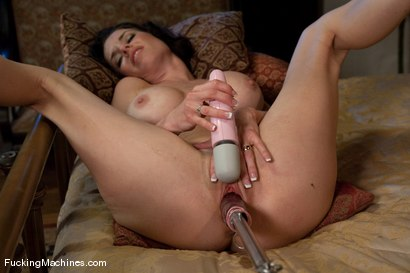 Photo number 12 from Part 4 of 5 <br> The MILF Squirter shot for Fucking Machines on Kink.com. Featuring Veronica Avluv in hardcore BDSM & Fetish porn.