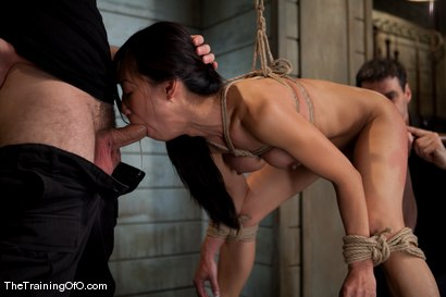Photo number 15 from The Training of Tia Ling, Day One shot for The Training Of O on Kink.com. Featuring Tia Ling and Wolf Hudson in hardcore BDSM & Fetish porn.