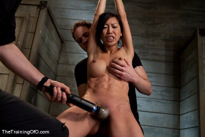 Photo number 8 from The Training of Tia Ling, Day One shot for The Training Of O on Kink.com. Featuring Tia Ling and Wolf Hudson in hardcore BDSM & Fetish porn.
