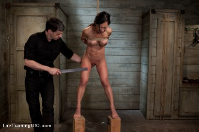 Photo number 8 from The Training of Tia Ling, Day Two shot for The Training Of O on Kink.com. Featuring Tia Ling and Maestro in hardcore BDSM & Fetish porn.