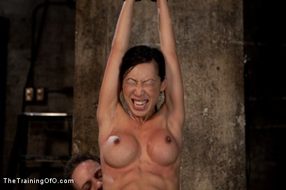 Photo number 7 from The Training of Tia Ling, Day Three shot for The Training Of O on Kink.com. Featuring Tia Ling and Wolf Hudson in hardcore BDSM & Fetish porn.
