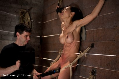 Photo number 10 from The Training of Tia Ling, Day Three shot for The Training Of O on Kink.com. Featuring Tia Ling and Wolf Hudson in hardcore BDSM & Fetish porn.