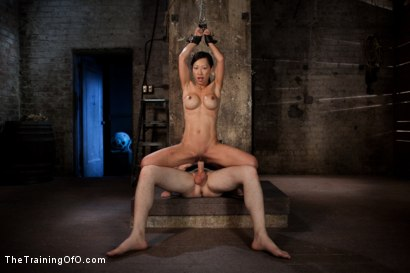 Photo number 5 from The Training of Tia Ling, Day Three shot for The Training Of O on Kink.com. Featuring Tia Ling and Wolf Hudson in hardcore BDSM & Fetish porn.