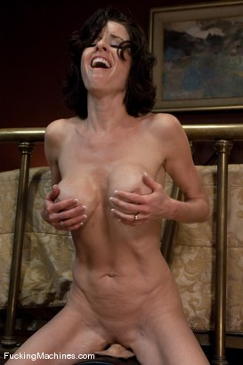 Photo number 15 from Veronica Avluv <br> Part 3 of 5 Our Squirting MILF rains on the Sybian shot for Fucking Machines on Kink.com. Featuring Veronica Avluv in hardcore BDSM & Fetish porn.