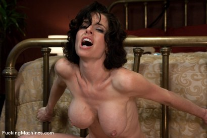 Photo number 14 from Veronica Avluv <br> Part 3 of 5 Our Squirting MILF rains on the Sybian shot for Fucking Machines on Kink.com. Featuring Veronica Avluv in hardcore BDSM & Fetish porn.