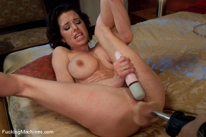 Photo number 10 from Veronica Avluv <br> Part 3 of 5 Our Squirting MILF rains on the Sybian shot for Fucking Machines on Kink.com. Featuring Veronica Avluv in hardcore BDSM & Fetish porn.