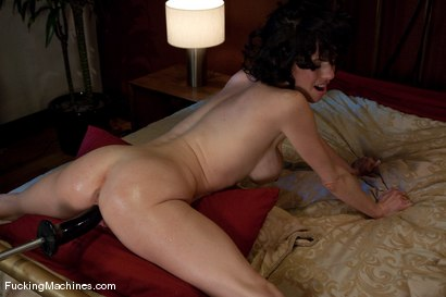 Photo number 12 from Veronica Avluv <br> part 2 of 5 The MILF squirts and squirts shot for Fucking Machines on Kink.com. Featuring Veronica Avluv in hardcore BDSM & Fetish porn.