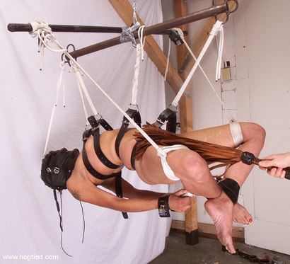 Photo number 10 from Talia Monet shot for Hogtied on Kink.com. Featuring Talia Monet in hardcore BDSM & Fetish porn.