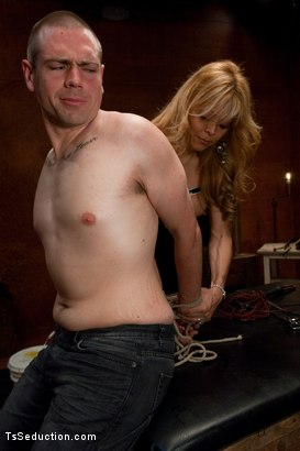 Photo number 3 from Hired Help shot for TS Seduction on Kink.com. Featuring Johanna B and John Jammen in hardcore BDSM & Fetish porn.