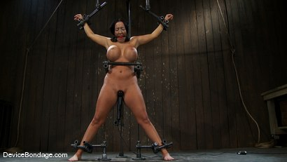 Photo number 13 from Richelle Ryan<br>Is that Snooky? shot for Device Bondage on Kink.com. Featuring Richelle Ryan in hardcore BDSM & Fetish porn.