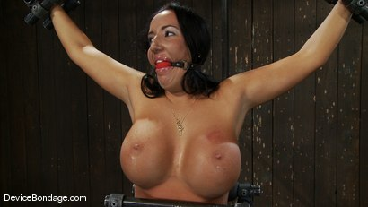 Photo number 6 from Richelle Ryan<br>Is that Snooky? shot for Device Bondage on Kink.com. Featuring Richelle Ryan in hardcore BDSM & Fetish porn.