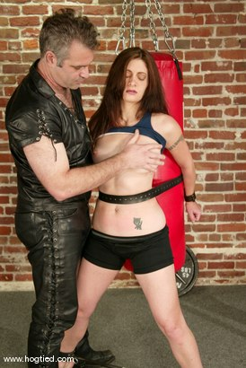 Photo number 2 from Torque and Carly shot for Hogtied on Kink.com. Featuring Torque and Carly in hardcore BDSM & Fetish porn.