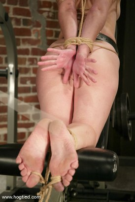 Photo number 9 from Torque and Carly shot for Hogtied on Kink.com. Featuring Torque and Carly in hardcore BDSM & Fetish porn.