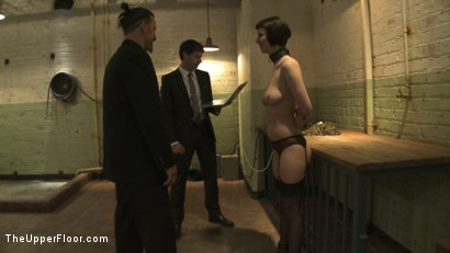 Photo number 15 from Entertaining a Master shot for The Upper Floor on Kink.com. Featuring Cherry Torn, Bella Rossi and Maestro Stefanos in hardcore BDSM & Fetish porn.
