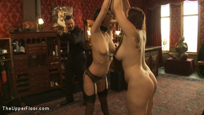 Photo number 7 from Entertaining a Master shot for The Upper Floor on Kink.com. Featuring Cherry Torn, Bella Rossi and Maestro Stefanos in hardcore BDSM & Fetish porn.