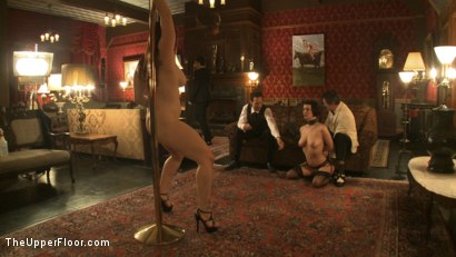 Photo number 10 from A Whip Dance for Master Acworth shot for The Upper Floor on Kink.com. Featuring Cherry Torn and Bella Rossi in hardcore BDSM & Fetish porn.