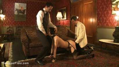Photo number 11 from A Whip Dance for Master Acworth shot for The Upper Floor on Kink.com. Featuring Cherry Torn and Bella Rossi in hardcore BDSM & Fetish porn.